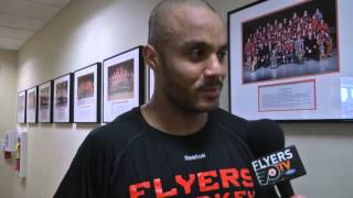 Ray Emery talks about joining the Flyers