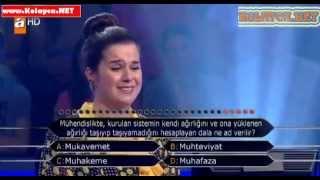 Kim Milyoner Olmak Ister 270. bölüm Bedra Girgin 09.10.2013