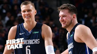 Where do Luka Doncic and  Kristaps Porzingis rank among NBA's top duo's? | First Take