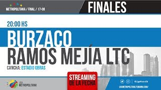 SEMIFINAL 1: BURZACO F.C VS. RAMOS MEJÍA LTC