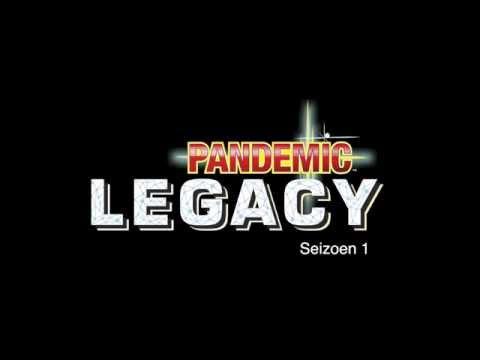Pandemic Legacy NL - sneak peek inside the box