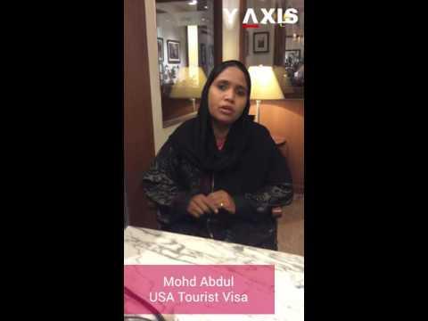 Mohd Abdul US Tourist visa PC Tara