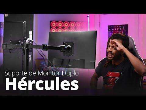 Suporte de Monitor Duplo DT3sports Hércules