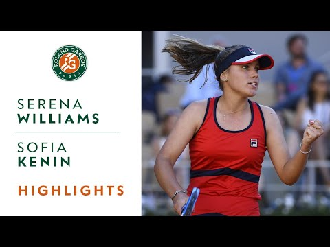 Serena Williams vs Sofia Kenin - Round 3 Highlights | Roland-Garros 2019
