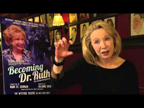 Becoming Dr. Ruth - Press Interview with Actress Debra Jo Rupp ...
