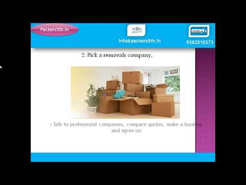 Hassle free moving offices with packers5th.in in India
