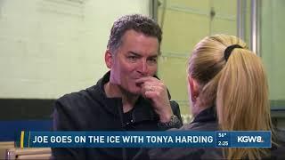 Joe goes on the ice with Tonya Harding