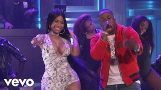 Yo Gotti - Rake It Up (Live on The Tonight Show Starring Jimmy Fallon) ft. Nicki Minaj