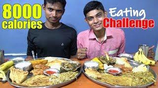 8000 Calories Food Eating challenge | Man Vs Food | Food Challenge India