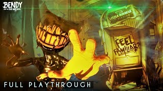 Exploring the NEW Chapter 3! || Bendy Chapter 3 Remastered 2018 (Full Playthrough)