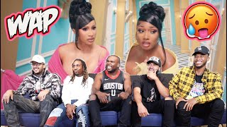 Cardi B - Wap Feat Megan Thee Stallion (Official Music Video) Reaction/Review!