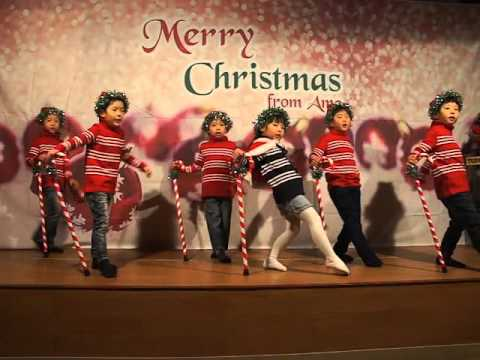 kids Christmas performance - Jingle bell rock