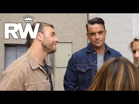 Robbie Williams & Gary Barlow | 'Shame' | The Making Of The Video