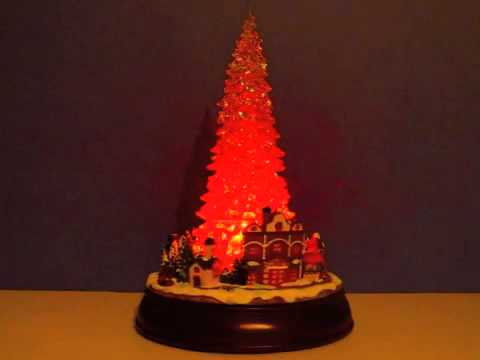 Multi Color Lighted Tree