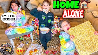HOME ALONE WITHOUT MY PARENTS!! **NO RULES** | Familia Diamond