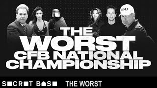 The Worst College Football National Championship: 2012 - Episode 10