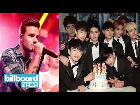 Fan Army Face-Off Semi-Finals: Liam Payne vs. GOT7 & Ed Sheeran vs. T-Ara   Billboard News