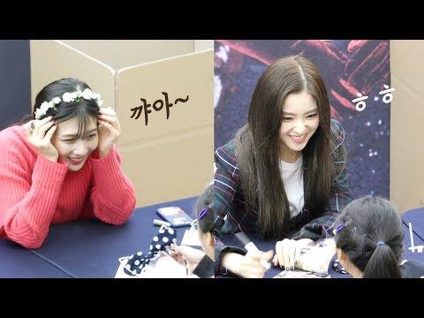 어린 팬과 만난 레드벨벳 Red Velvet meets Kid fan : Edited fancam : RBB 팬사인회 fansign event : 코엑스 181203