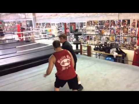 Wrestling Practice for The Strain