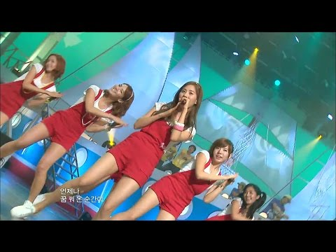 【TVPP】SNSD - Within Summer, 소녀시대 - 여름 안에서 @ Special Stage, Show Music Core Live