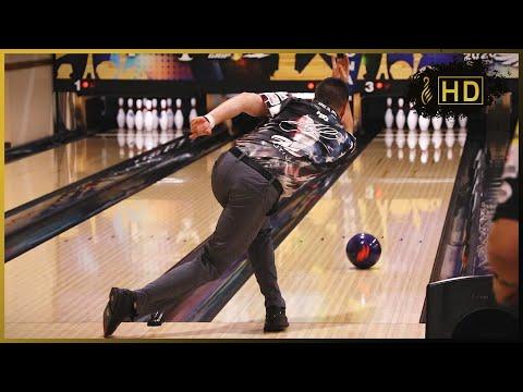 AJ Johnson Bowling Release in Slow Motion (PBA WSOB XI Edition)