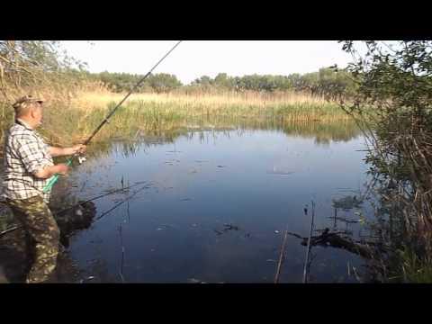 Рыбалка на удочку 2014