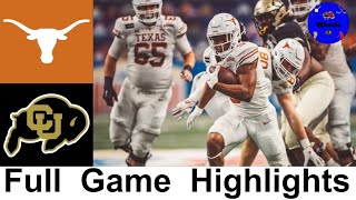 #20 Texas vs Colorado Highlights | 2020 Alamo Bowl | 2020 College Football Highlights