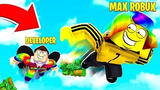 The DEVELOPER got MAD because I spent too much ROBUX.. (Roblox)
