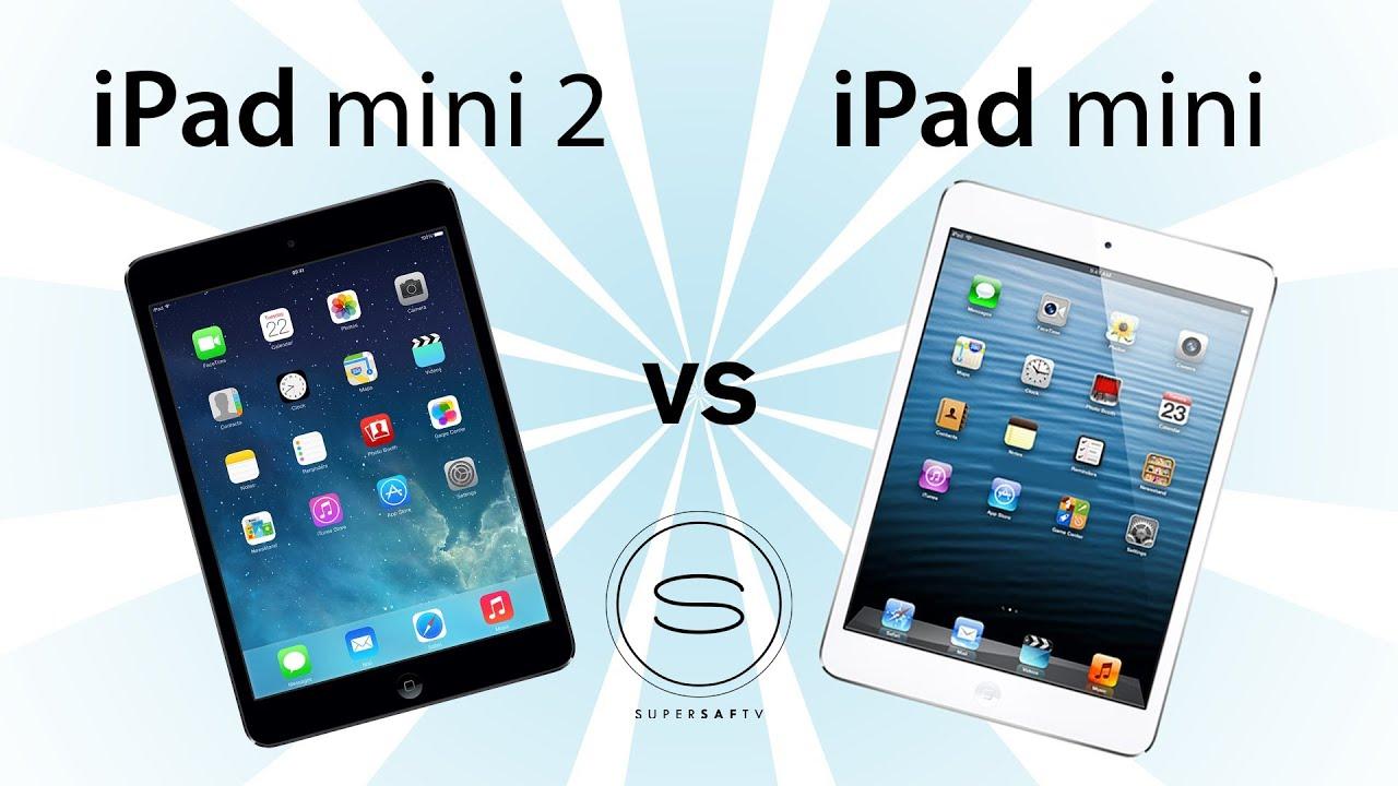 iPad Mini 2 (Retina) vs iPad Mini 1 - YouTube
