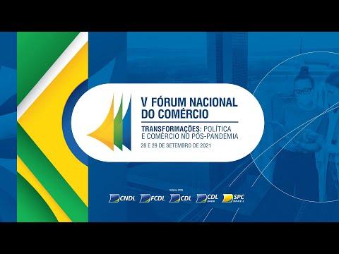 Imagem Vem aí o V Fórum Nacional do Comércio!