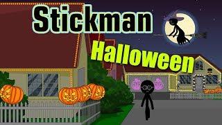 Stickman mentalis. Halloween.