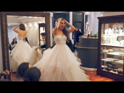 PICKING OUT MY WEDDING DRESS!!!   Here's To Us - Episode 5