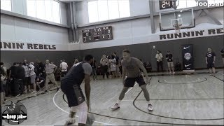 Blake Griffin vs Andre Drummond 1 on 1 USA Basketball Practice 2018 HoopJab NBA