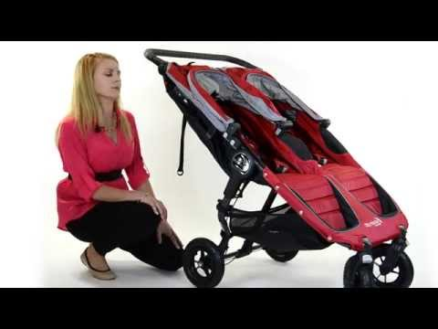 How to fold a City Mini GT double stroller