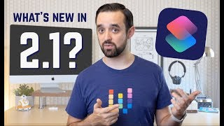 Shortcuts 2.1 update! NEW actions + HomePod changes