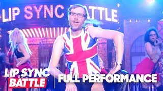 "Stephen Merchant Performs ""Hero & ""Dirrty"" | Lip Sync Battle"