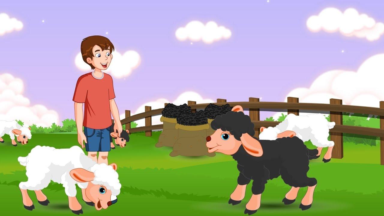 Baa Baa Black Sheep - Nursery Rhymes - YouTube