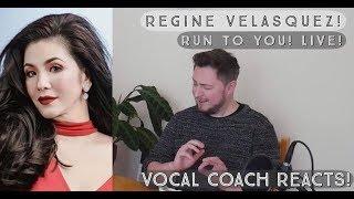 Vocal Coach Reacts! Regine Velasquez - Run ToYou - Live!