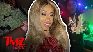 Cardi B & Offset Go Wild At The Strip Club! | TMZ TV