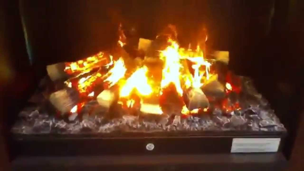 Dimplex Optimyst Electric Fireplace Youtube
