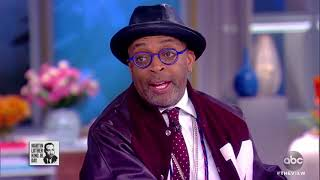Spike Lee On 'BlacKkKlansman,' 'Land Of The Free' Video | The View