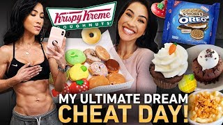 9,000+ Calorie Fitgirl Cheat Day (Eating Everything I Want) 🤤