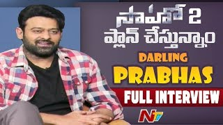 Interview: Prabhas on Saaho, marriage and many more..