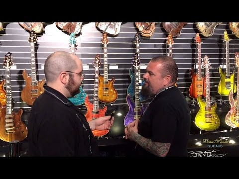 ESP Booth Tour with Chris Cannella - NAMM 2016