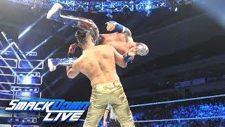 "Sin Cara vs. Andrade ""Cien"" Almas: SmackDown LIVE, July 10, 2018"