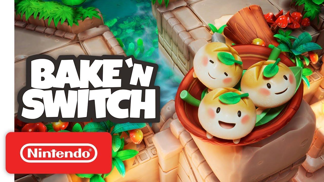 Bake 'n Switch - Announcement Trailer - Nintendo Switch