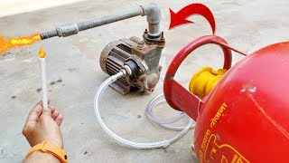 Can We Pump LPG Gas From Cylinder Using Usha Water Moter