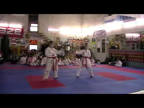 Экзамен по каратэ 24 ноября 2013 года в клубе Тигренок.ч.4