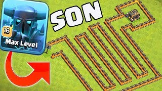 Clash Of Clans LABİRENT TURNUVASI !! (SON)