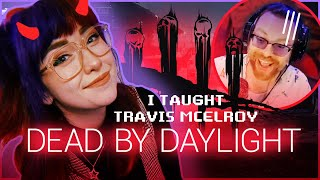 Teaching Travis McElroy how to play Dead By Daylight || KoolySmiley, Jason Sulli, Detune, & Jude